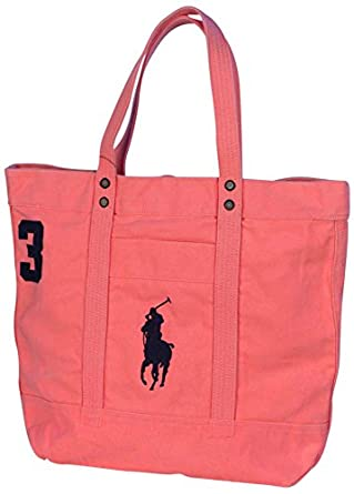 Polo Ralph Lauren Big Pony Canvas Tote Bag