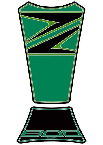 (MOTOGRAFIX (Moto graphics) tank pad Z800 Green)