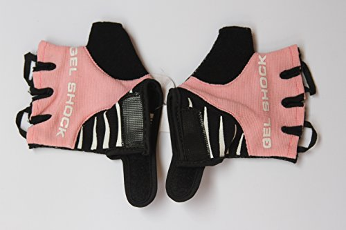HANG Cycling Bike Gloves ( For kids 7 and 8 years Old) High Performance Anti-Slip Shock Absorbing Finger-less Gel Padded