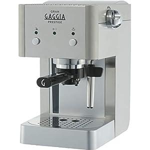 Gaggia GranGaggia Prestige Macchina da Caffè Espresso Manuale, per Macinato e Cialde, RI8427/11