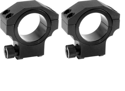 Ultimate Arms Gear Tactical Deluxe Machined Ruger Aluminum Low Profile Dual 30mm Or 1'' Premium Scope Rings - One Pair