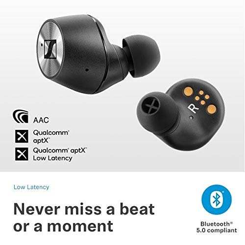 Sennheiser MOMENTUM True Wireless Bluetooth Earbuds with Fingertip Touch Control