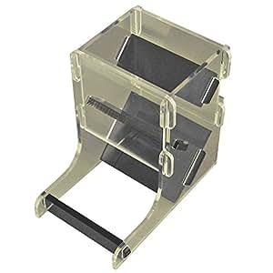 LITKO Mini Dice Tower Kit, Translucent Grey & Clear