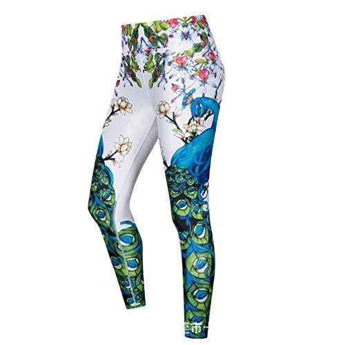 Jogging Gym Pantaloni Donne Collant Yoga Fliegend Stampa Donna Elastici Up Pantaloni Colorato Sportivi Pantaloni Push da Vita Leggins Leggings Alta Fitness UCpUHTF
