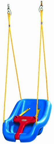 Little Tikes 2-in-1 Snug n Secure Swing Blue