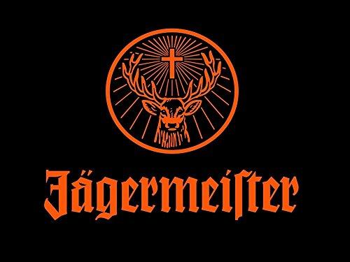 Bingirl DM151 Jagermeister Drink Logo Print - Jagermeister Poster