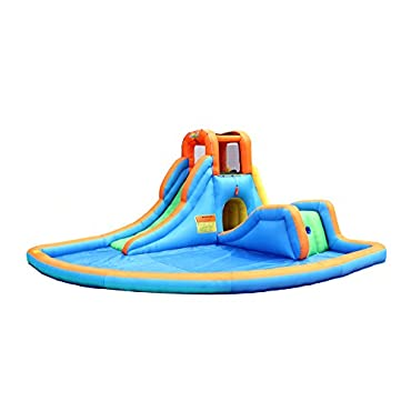 Bounceland Cascade Water Slide with Pool