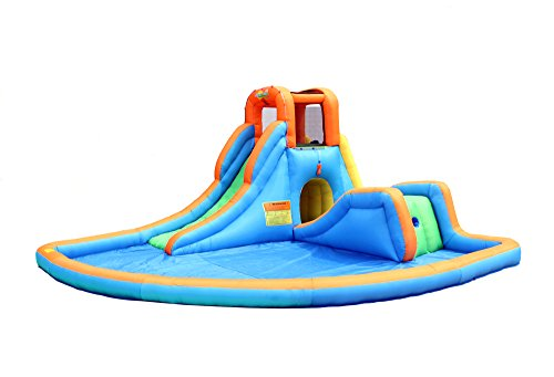 Bounceland Inflatable Cascade Water Slide with Large Pool