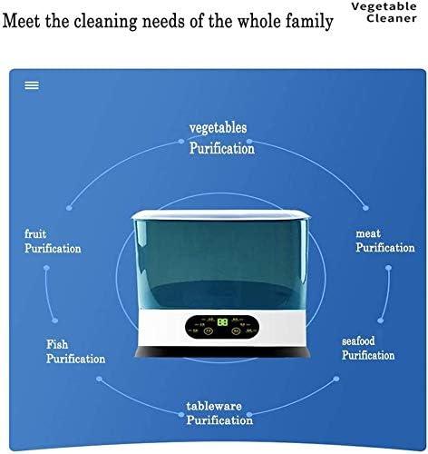 Huishoudelijke Fruit and Vegetable Cleaning Microbiële Machine, Multifunctionele keukenmachine Vlees Active Machine, Plantaardige Wasmachine Purifier STBAAS