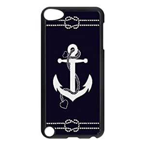 Retro Vintage Anchor Chevron Pattern Productive Back Phone Case FOR Ipod Touch 5 -Pattern-10