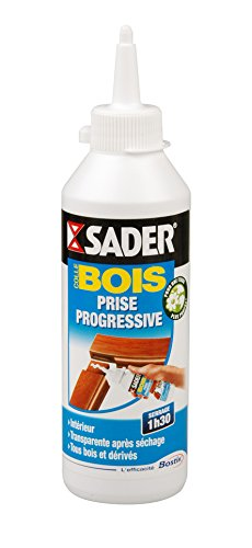 Sader Colle à bois progressive Biberon de 250 g Bostik SA AT047011