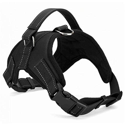 Beatybag Adjustable Pet Puppy Large Dog Harness Animals Pet Walking Hand Strap Dog Chest Strap Leash 4 Sizes Black M