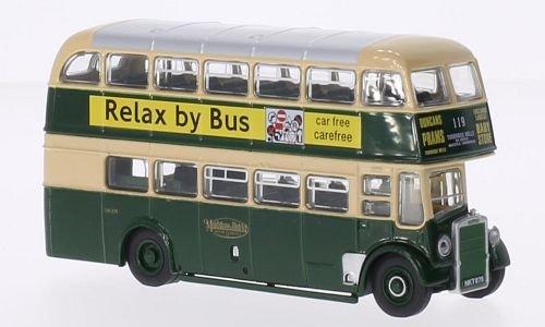 Leyland titanium PD2/12, RHD, Maidstone & District, Model Car, Ready-made, Oxford 1:76 (Titanium Oxfords)