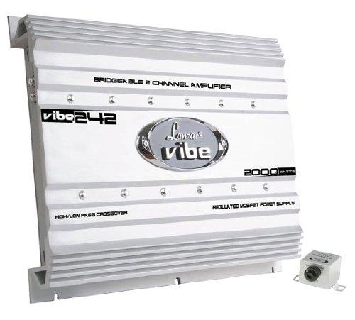 Lanzar VIBE242 2000 Watts 2 Channel Mosfet Amplifier