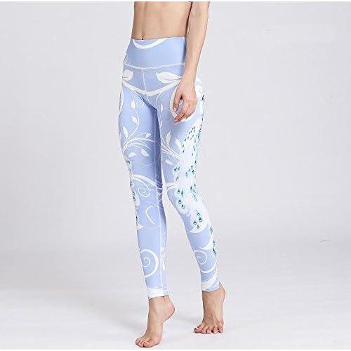 TY-FR-Femmes 3D Peapock Sports Pantalons Yoga Leggings Collants Entraînement Fitness Running Pant