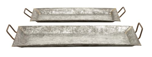 deco-79-38174-metal-galvanized-trays-set-of-2