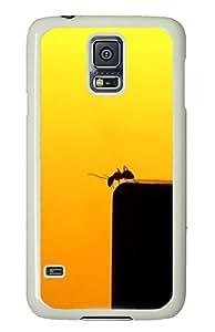 Samsung S5 case fun Cute Ants Macro Photography PC White Custom Samsung Galaxy S5 Case Cover