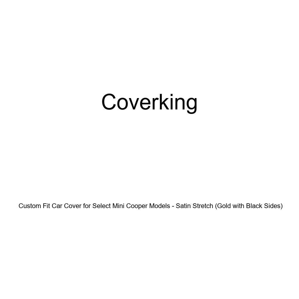 Coverking Custom Fit Car Cover for Select Mini Cooper Models CVC3SS291MN9207 Satin Stretch Green with Black Sides
