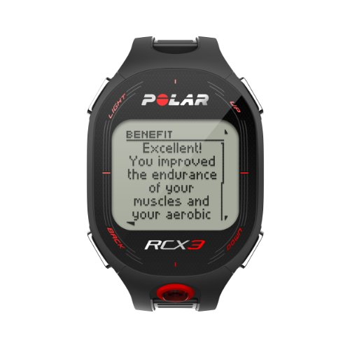 Polar RCX3 Black (Polar Rate Strap Rcx5 Heart)