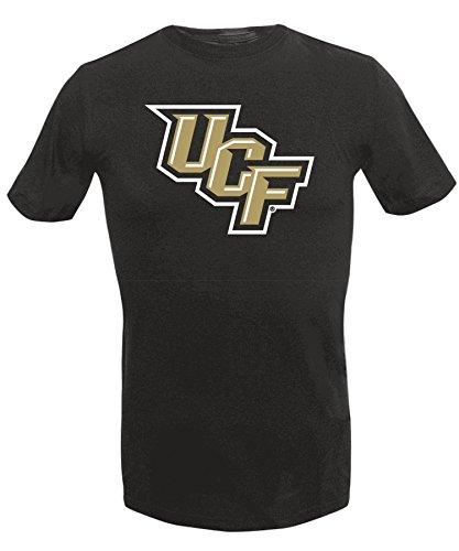 Alta Gracia NCAA Central Florida Golden Knights Men's Short Sleeve O-End Tee, Black, X-Large