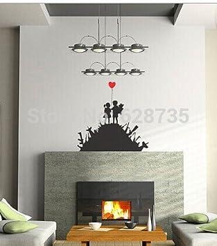 Banksy SPRÜHFOLIE FELGENFOLIE AUTOFOLIE Power-Aufkleber Wall Art ...