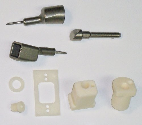 Deadbolt & Hinge-side Door Lock Reinforcement for custom doors with Sidelights - includes installation kit