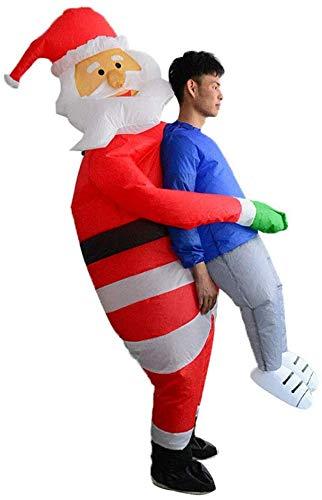 Amazon.com: LIMINGZE Santa Claus muñeco de nieve inflado ...
