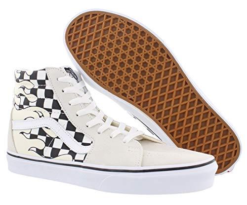 Uomo White black sneaker Scarpe Vans hi Sk8 aO6OZ