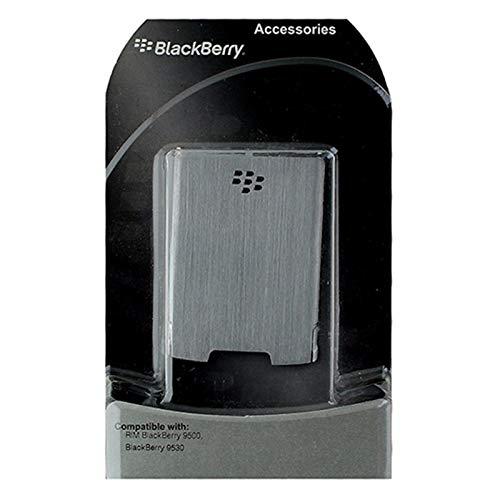 - Original Silver BlackBerry Standard Size Repalcement Battery Door Cover OEM ASY-21616-002 for BlackBerry Storm 9530 9500