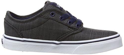 Vans Y ATWOOD  (PALMS) BLACK/C - Zapatillas de lona infantil Pewter/Blanco Damas