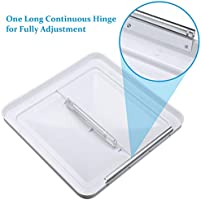 MOTOOS 14X14 White Ventilation Cover Universal Replacement Vent Lid Fit for Camper Trailer Motorhome Bathroom