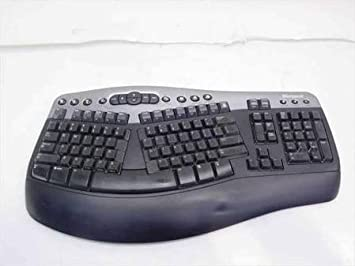 d4efb27dac4 Microsoft Wireless Natural MultiMedia Split Comfort Ergonomic WUR0385  Keyboard: Amazon.ca: Electronics
