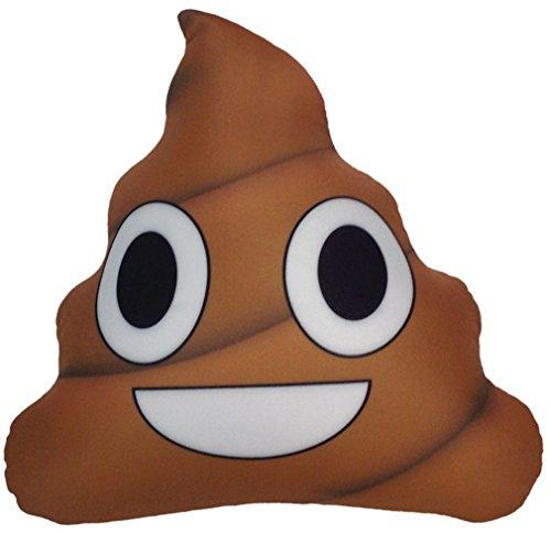 iscream X-Pressive! Emoji Happy Smiling Poop Shaped 12