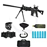 "Tippmann US Army Project Salvo Paintball Gun with DP130 Red Dot Bipod 22"" Barrel Elite Package"