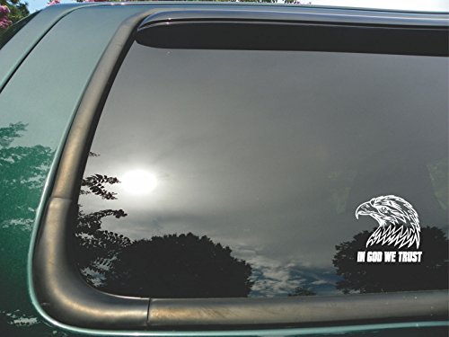 In-God-We-Trust-Eagle-Die-Cut-Christian-Vinyl-Window-Decalsticker-for-Car-or-Truck-5x5