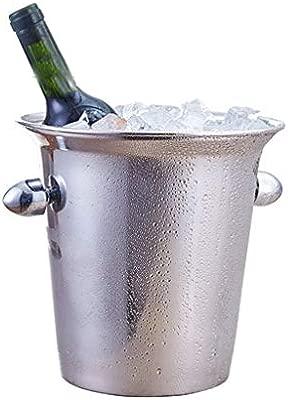 Compra GLLL-Ice Bucket Cubo De Hielo De 3L, Acero Inoxidable ...