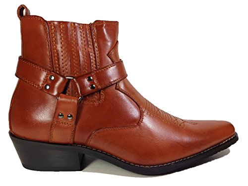 Short Motorcycle Boots Mens - 7