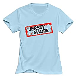 05ee3ce9b Jersey Shore Nerdy Casual SkyBlue T Shirts For Women's Size XXL Apparel