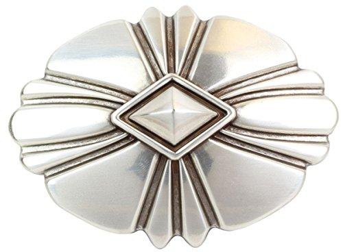Brazil Lederwaren Gürtelschnalle Trapani 4,0 cm | Buckle Wechselschließe Gürtelschließe 40mm Massiv | Für Wechselgürtel bis zu 4cm Breite