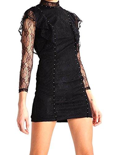 TOPSHOP Cocktailkleid / festliches Kleid black Gr 34 Z7Qa00X1T ...