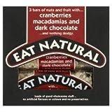 Eat Natural Cranberries Macadamia And Dark Chocolate Bars 3 X 45G by Eat Natural