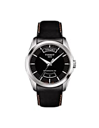 Tissot Couturier Automatic Black Dial Mens Watch T035.407.16.051.03