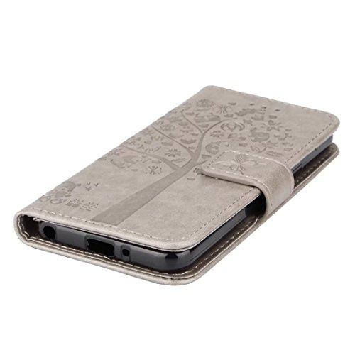 Custodia M700n Custodia protettiva carta per Custodia slot Q6 regalo Case Custodia protettiva Albero Ougger Custodia Custodia M700a con di 185 Custodia in silicone Orso protettiva Lg Grigio per iPhone YxzOw6q