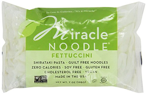 Miracle Noodle Shirataki Fettucini 7 Ounce (Pack of 5)