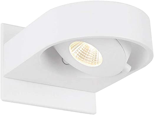 BETLING LED Apliques Pared Interior Foco lámpara de pared pista Track Spot iluminación con Cree Chip 10W, regulable para vivir escalera pasillo oficina comercial: Amazon.es: Iluminación