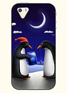 OOFIT Phone Case design with ChristmasPenguin for Apple iPhone 4 4s 4g
