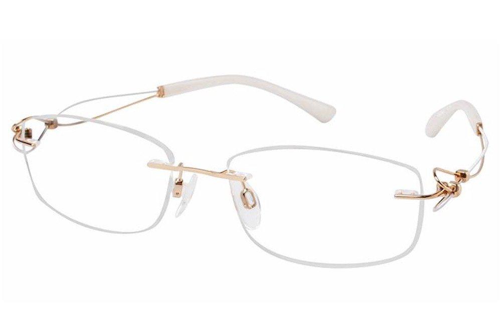 Line Art Xl 2063 Eyeglasses : Amazon charmant line art eyeglasses xl gp gold