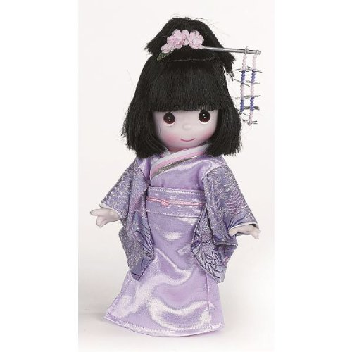 The Doll Maker Precious Moments Dolls, Linda Rick, Masumi, Japan Children of The World, 9 inch Doll - Vinyl Moments Doll Precious