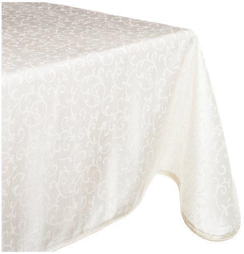 Lenox Opal Innocence 90 Round Tablecloth White 7186090RNDWHT