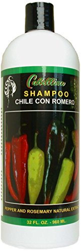 Chile Con Romero Pepper and Rosemary Natural Extract Shampoo, 32 - Store Online Chile